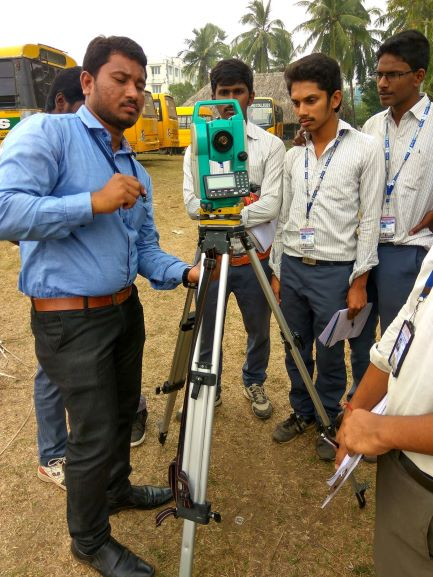 A TRAINING ON ADVANCED SURVEYING USING TOTAL STATION