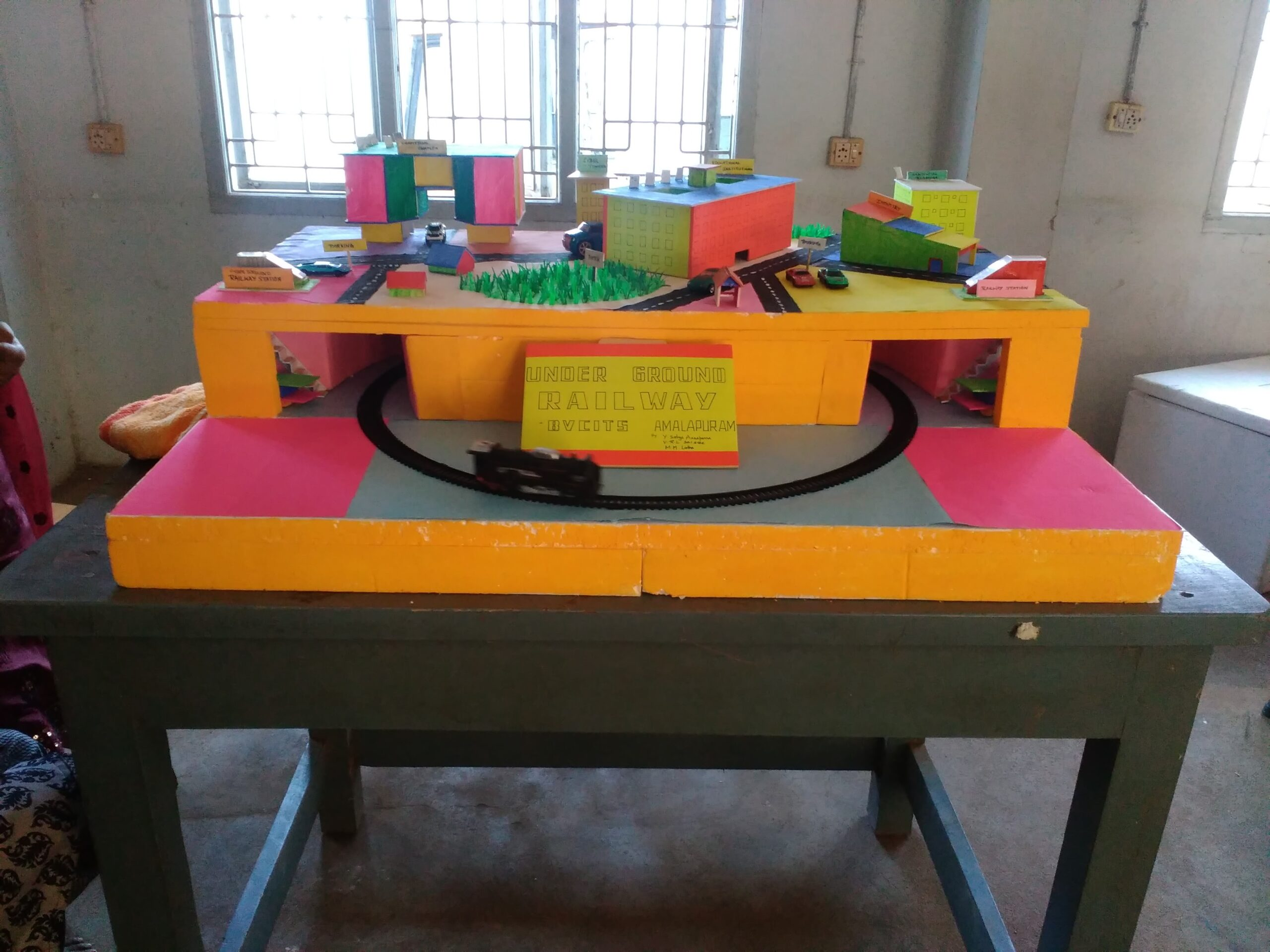 WORKING MODEL PREPARED BY STUDENTS