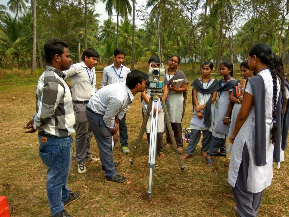 SURVEYING USING TOTAL STATION