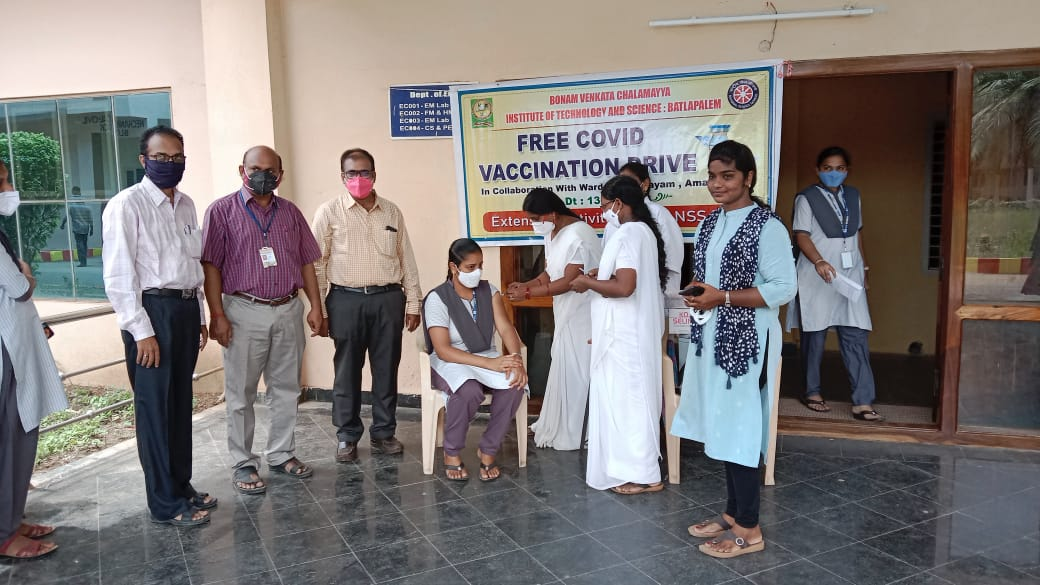 FREE COVID VACCINATION DRIVE ON 13-9-2021